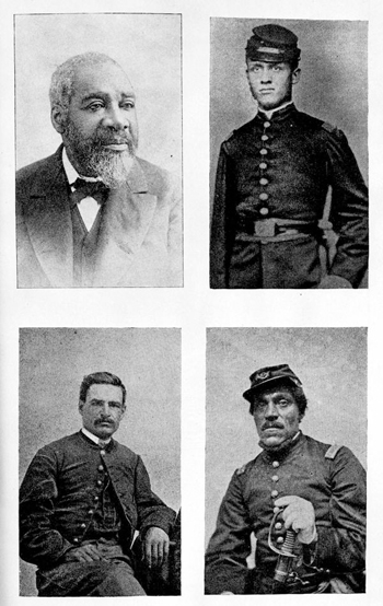 Officers of the 54th Regiment of Massachusetts Volunteers (18--)
