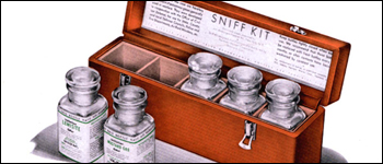 Advertisement for a Sniff Kit