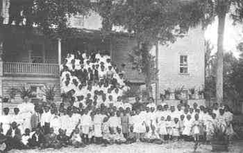 Daytona Normal and Industrial Institute group photograph (1919)