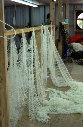 Fishing net: Fernandina Beach, Florida (not after 1980)
