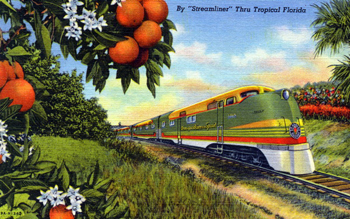 Orange Blossom Special (postmarked 1948)