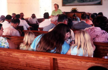 Sacred Harp singing by members of Bethlehem Primitive Baptist Church : Old Chicora, Florida  (not after 1978)