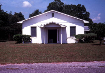 Bethlehem Primitive Baptist Church building : Old Chicora, Florida (not after 1979)