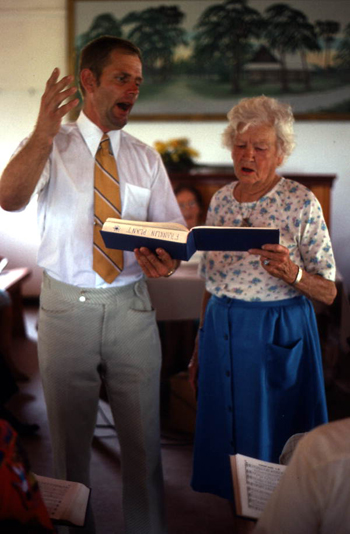 Sacred Harp singing (not after 1979)