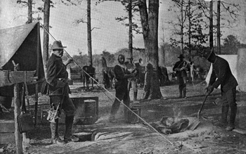 Cooking for the 9th U.S. Cavalry