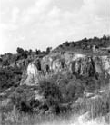 Panorama of Kendrick pit of Cummer Lime and Manufacturing Company