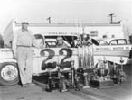 Fireball Roberts in his car