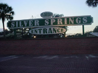 Entrance to Beautiful Silver Springs Now