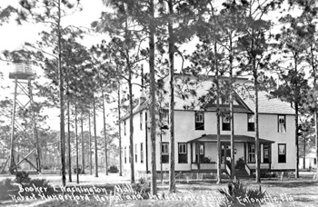 Robert Hungerford Normal and Industrial School, Booker T. Washington Hall: Eatonville, Florida (191-?)