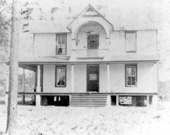 Principal's house at Robert Hungerford Normal and Industrial School: Eatonville, Florida (19--)