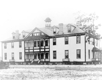 Hungerford Normal and Industrial School, J.H. Alfred Cluett Hall (191-?)