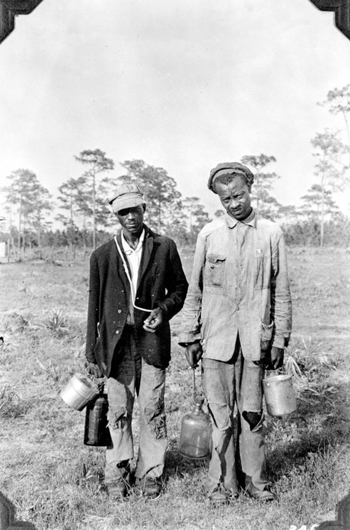 Turpentine industry workers (193-)