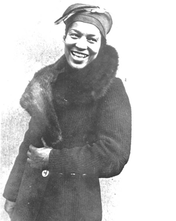 Portrait of Zora Neale Hurston: Eatonville, Florida (19--)