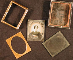 Example of ambrotype