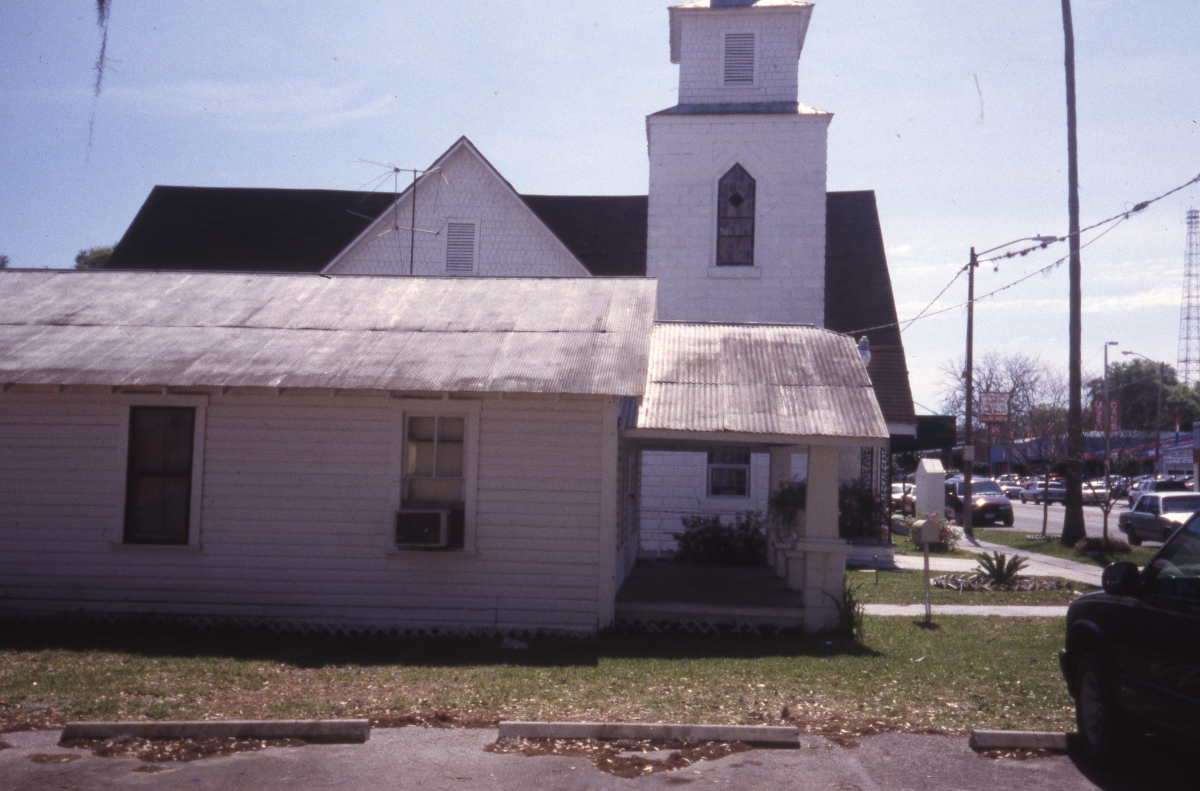 Photographs of the Mount Zion AME Church in Dade City.