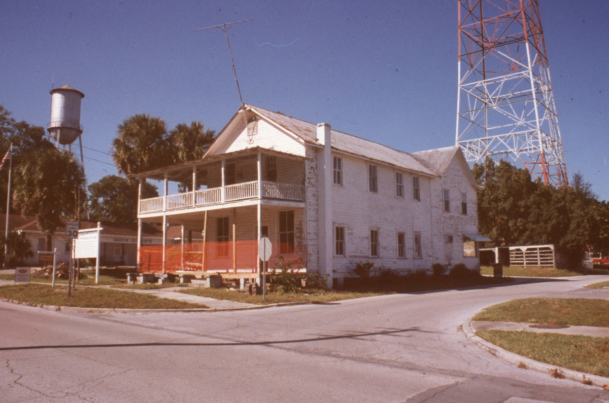 James K. Ward house in Dade City.