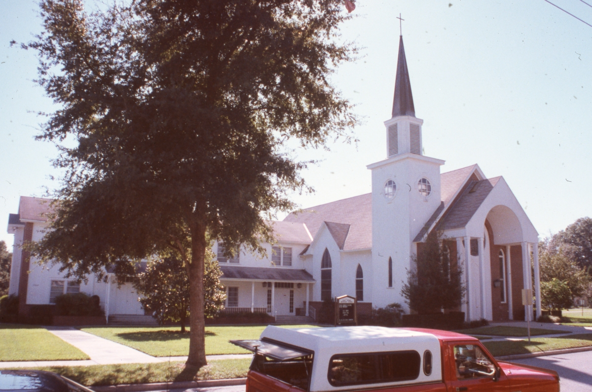 First United Methodist Church in Dade City.