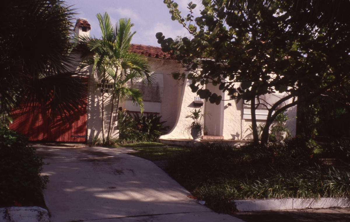 House in the Flamingo Park Historic Residential District of West Palm Beach.