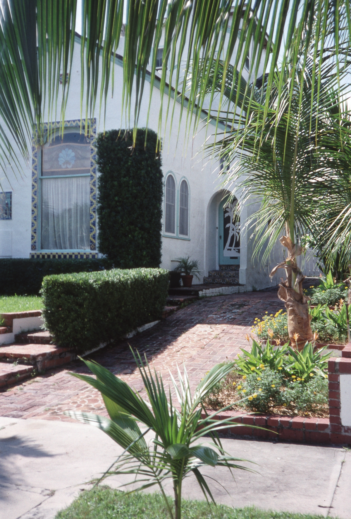 Photographs of the Clifton Rice House in West Palm Beach.