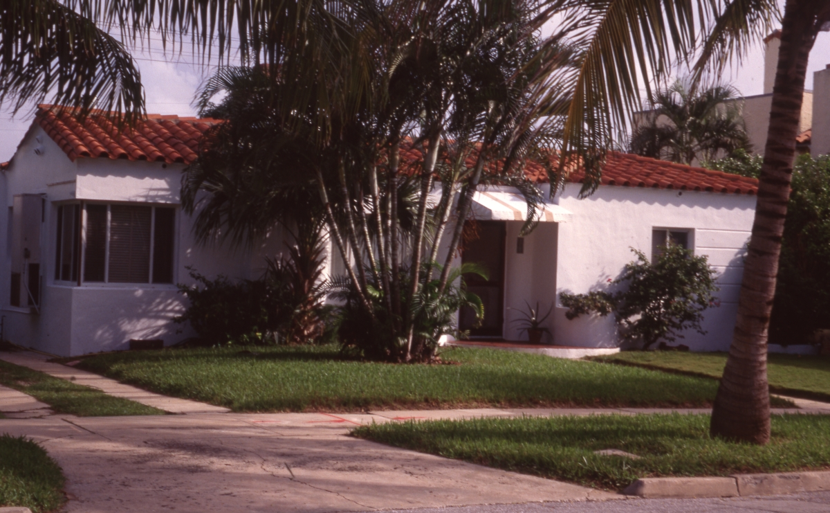 David and Lillian Goldsmith house in the Flamingo Park Historic Residential District of West Palm Beach.