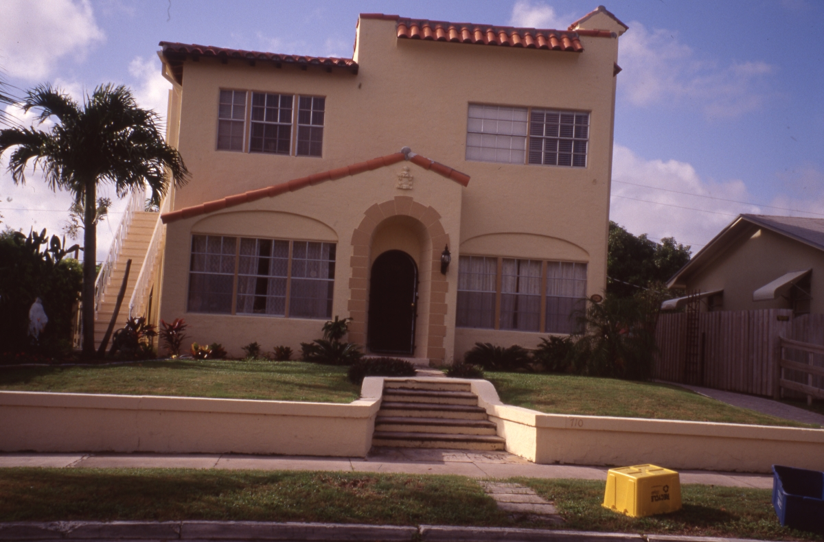 John and Florence Duff house in the Flamingo Park Historic Residential District of West Palm Beach.
