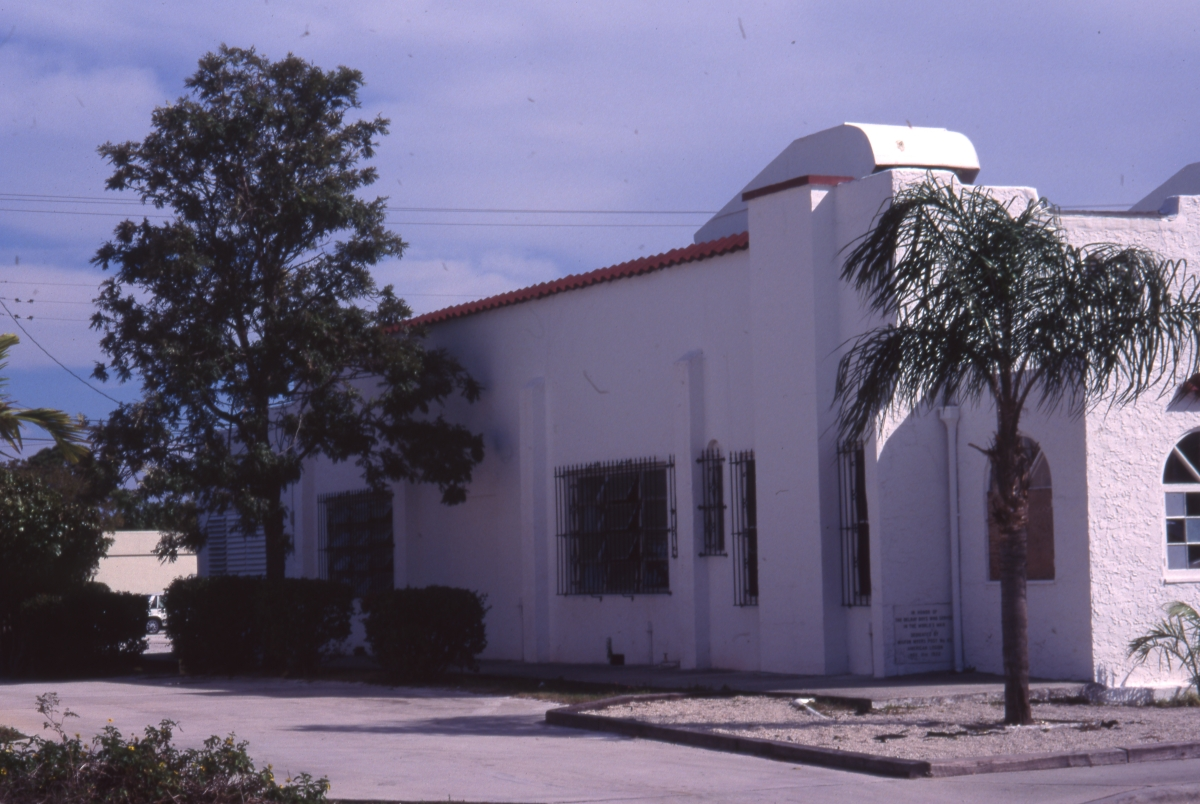 Photographs of the Milton-Myers American Legion Post No. 65 in Delray Beach.