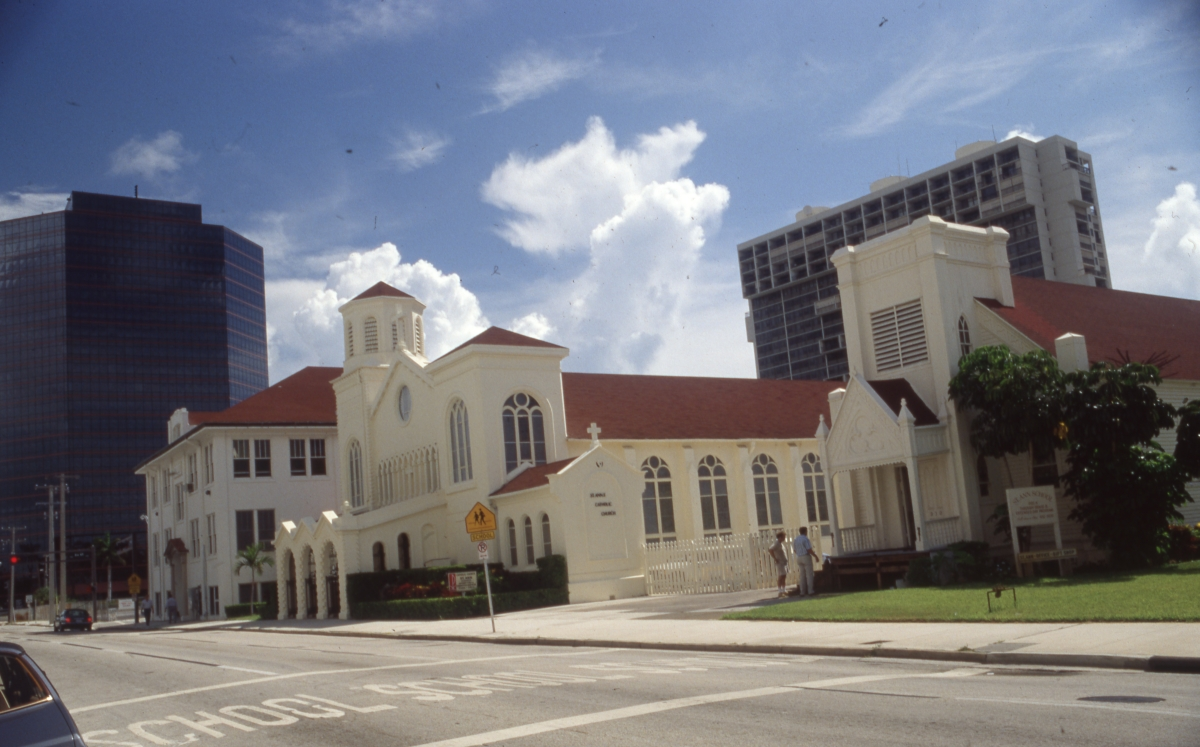 Photographs of St. Ann Church and Parish in West Palm Beach.