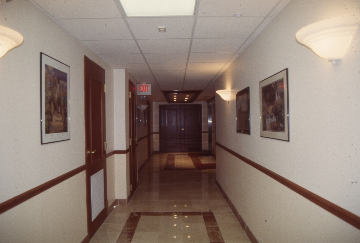 Photographs of the Guaranty Building in West Palm Beach.
