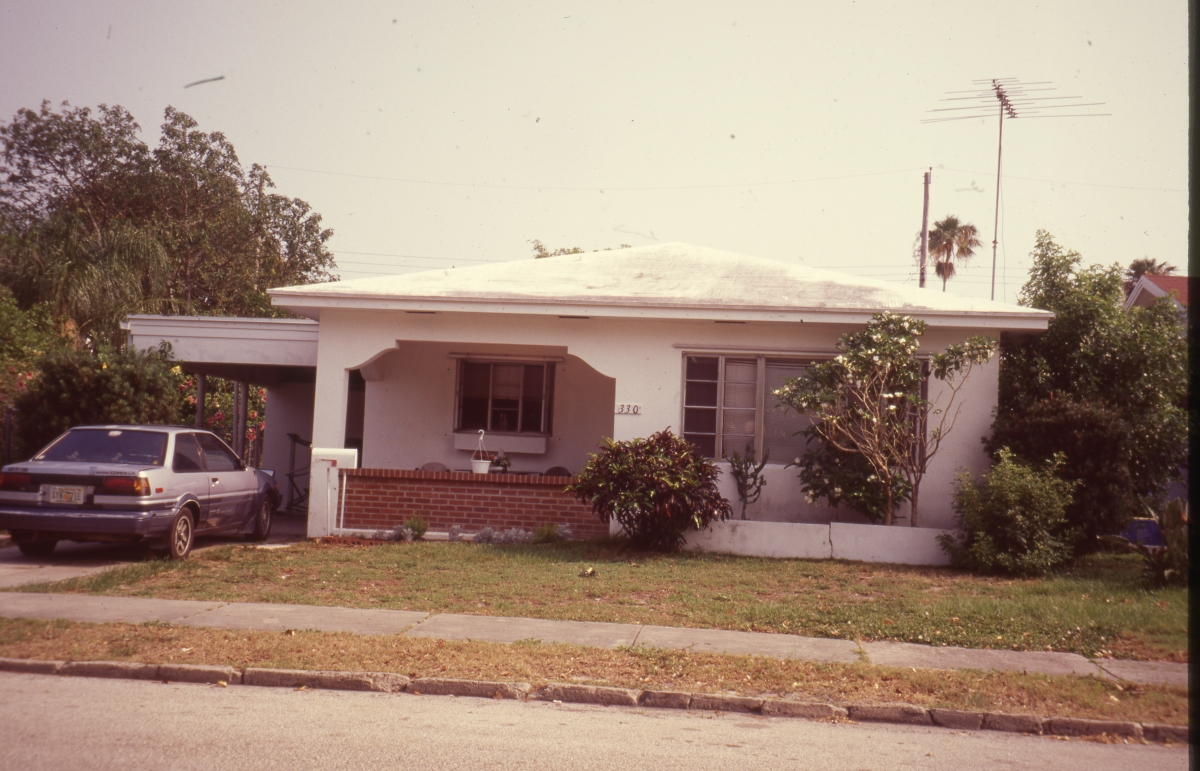 House in the College Park Historic District of Lake Worth.