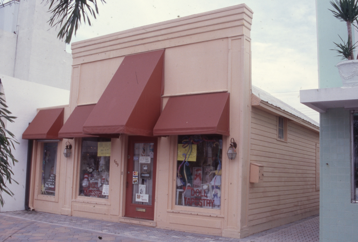Photographs of the Historic Old Town Commercial District of Lake Worth.