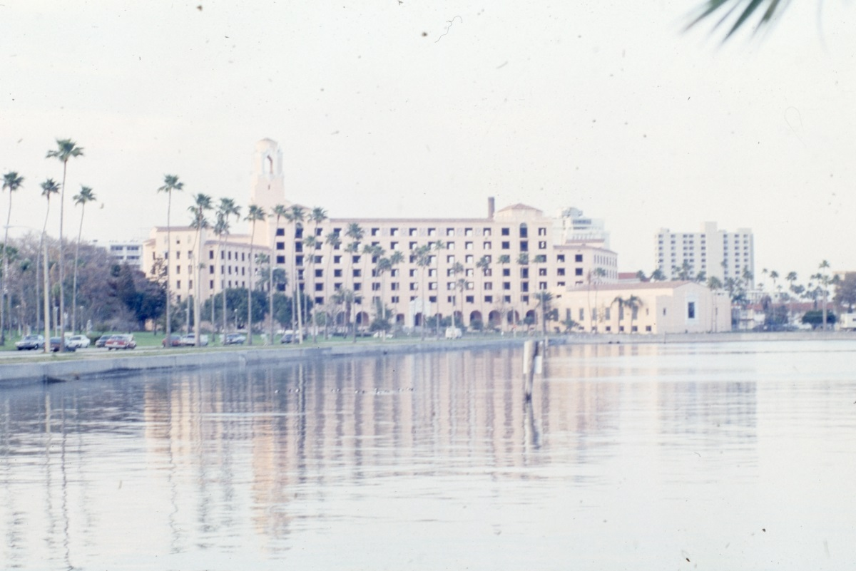 Photographs of the historic Vinoy Park Hotel in Saint Petersburg.