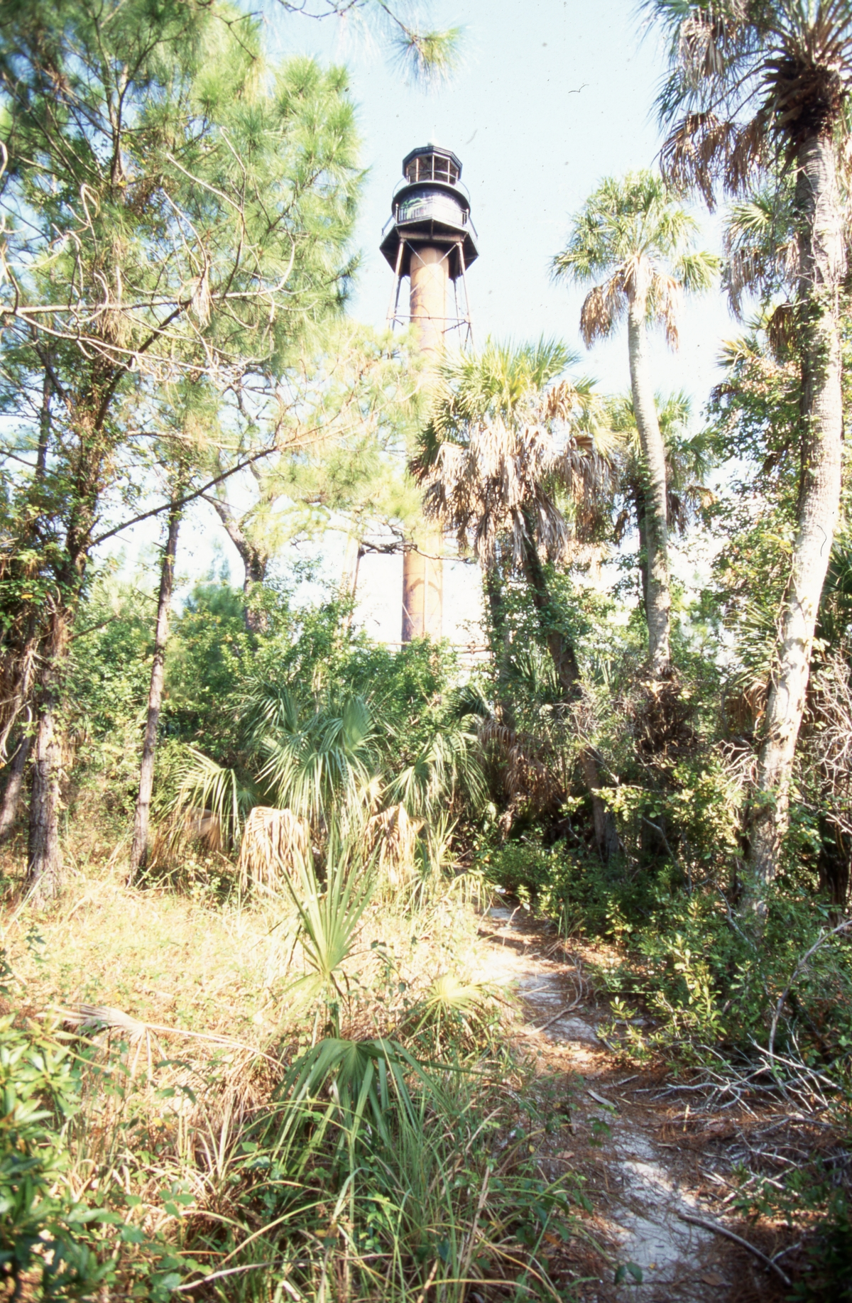 Photographs of the Anclote Key Lighthouse in Pinellas County.