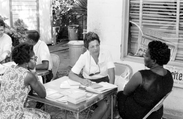 People meeting - Gainesville, Florida.
