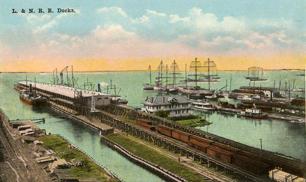 L. & N. R. R. docks.