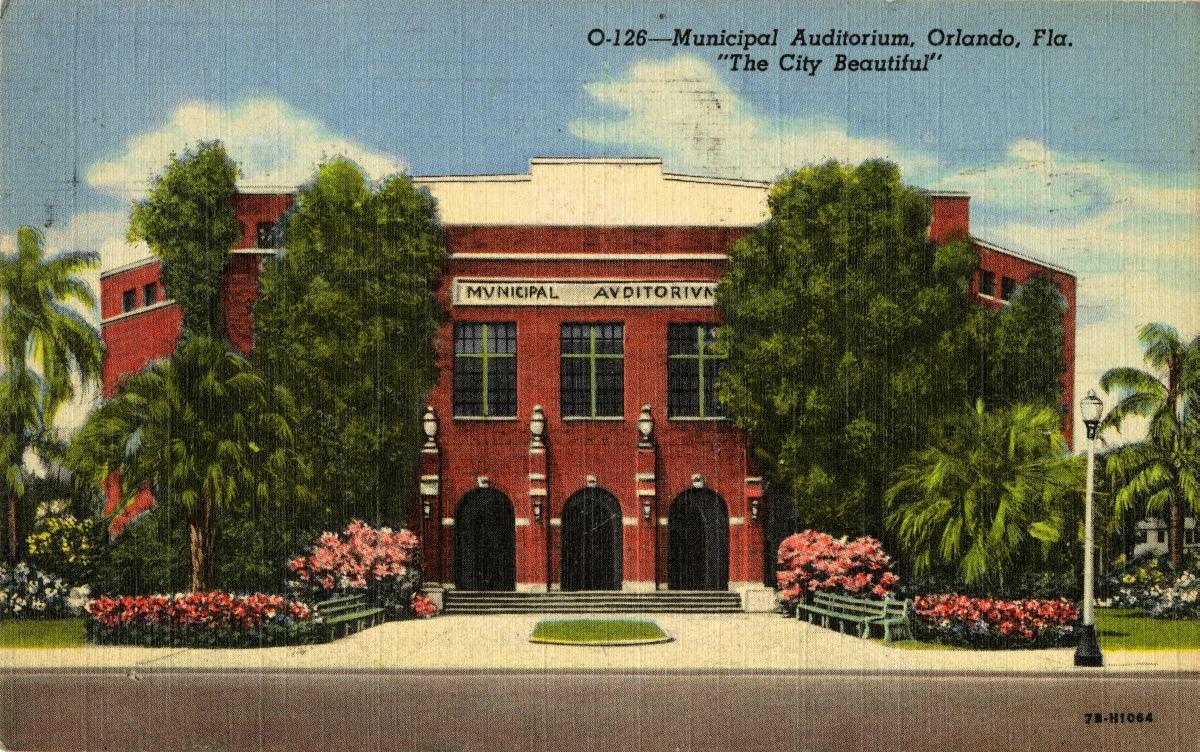 Municipal Auditorium, Orlando, Fla.