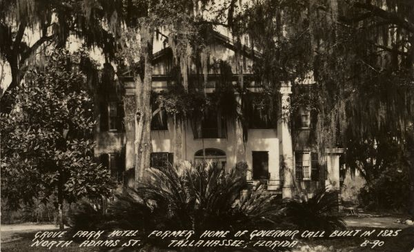 Grove Park Hotel on N. Adams St. in Tallahassee.