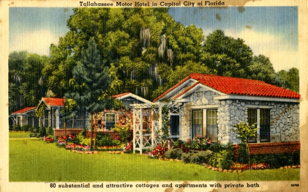 Tallahassee Motor Hotel in Capital City of Florida.