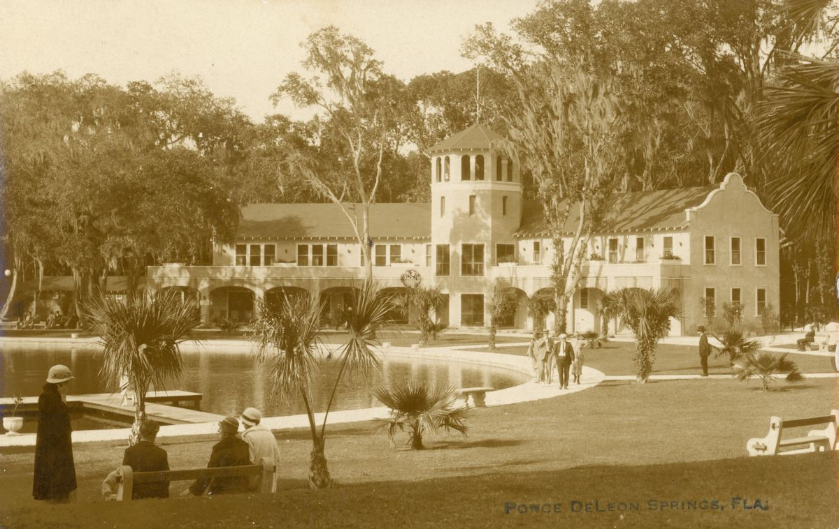 Ponce De Leon Springs - Florida.