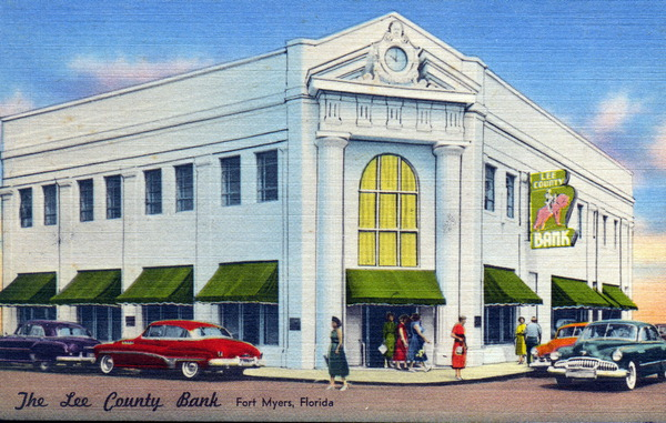 The Lee County Bank - Fort Myers, Florida.