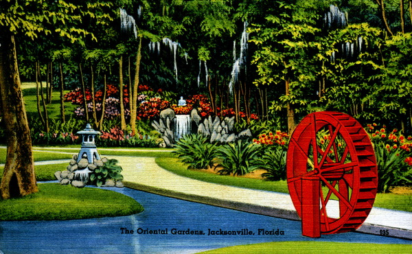 The oriental gardens- Jacksonville, Florida.
