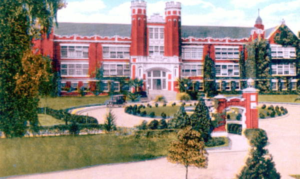 Administration building, Florida State College for Women..