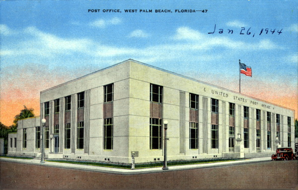 West Palm Post Office West Palm And Post Office