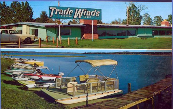 Trade Winds Fishing Lodge - Tallahassee, Florida.