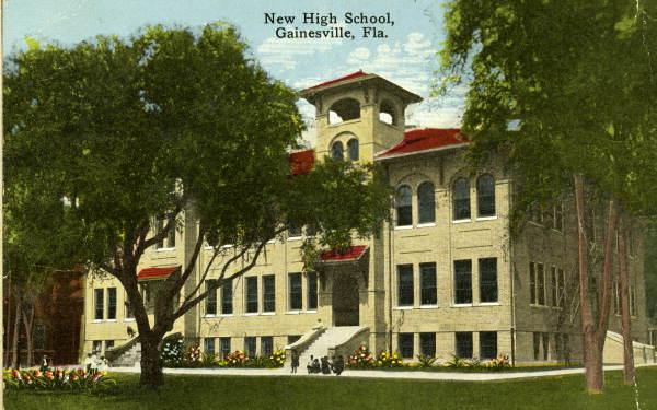New high School - Gainesville, Florida.