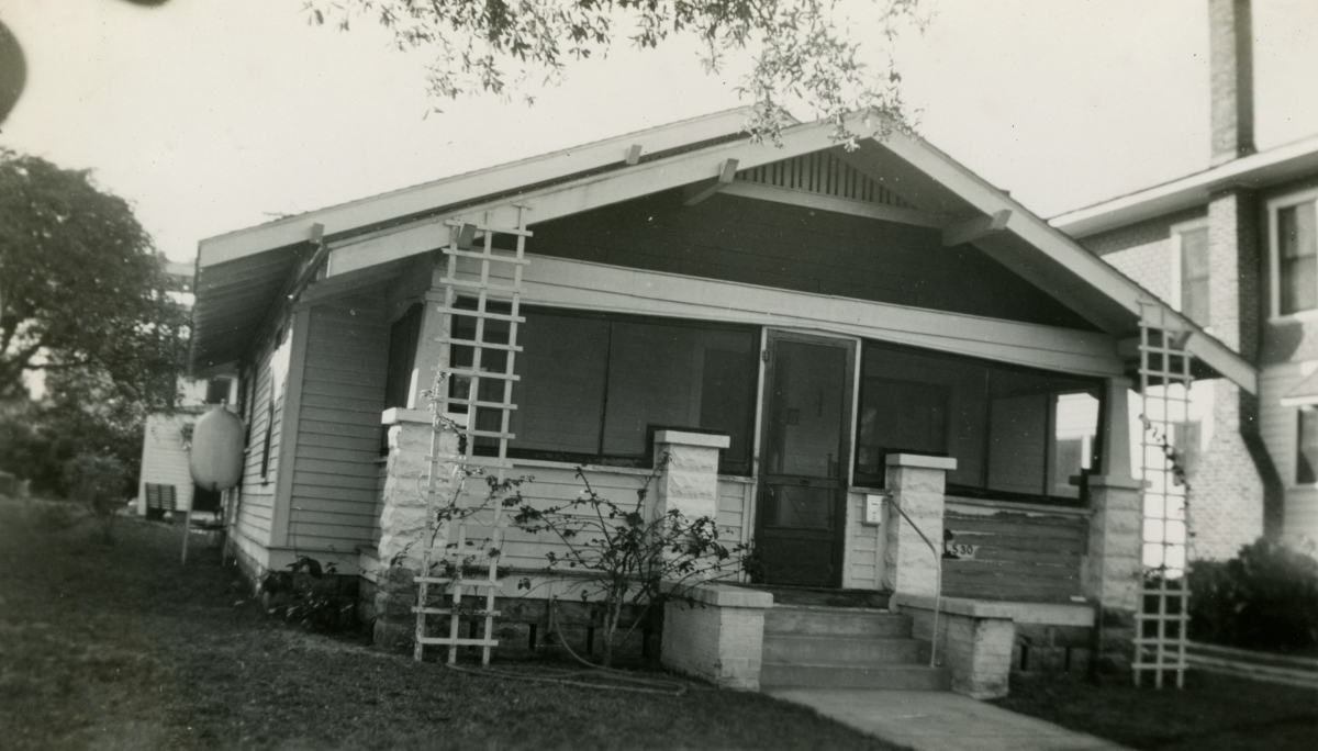 Residence in Central Florida shown during vacation of the Hall family from Michigan.