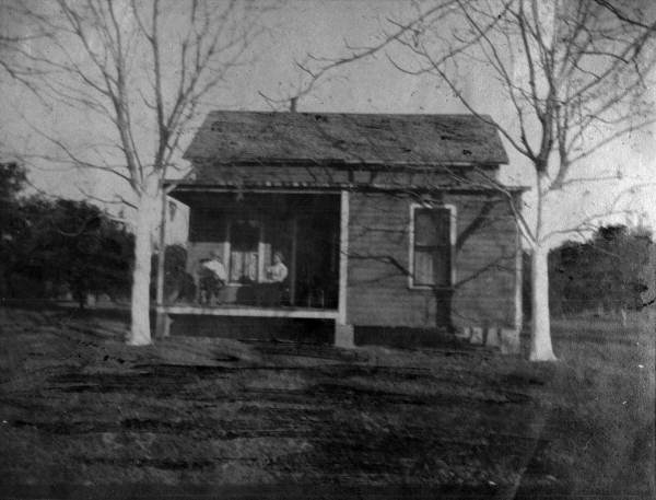 Cottage in Newell's orange grove.