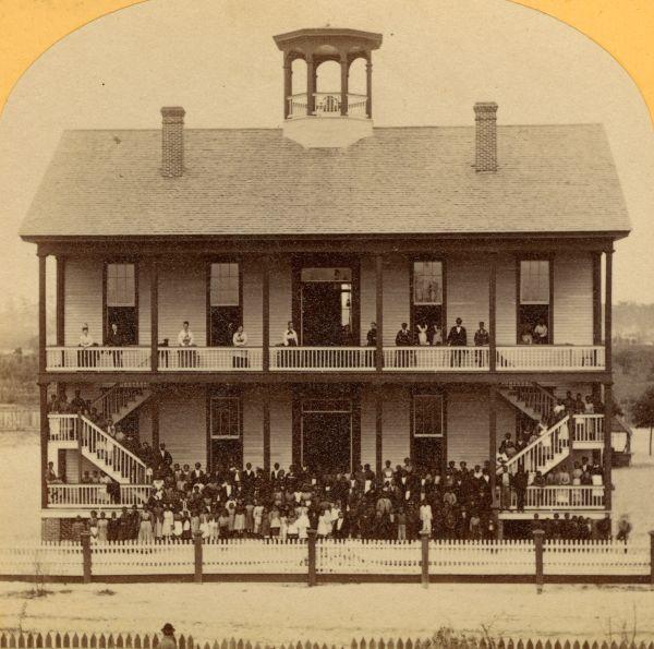 Stanton Institute school for colored children in Jacksonville.