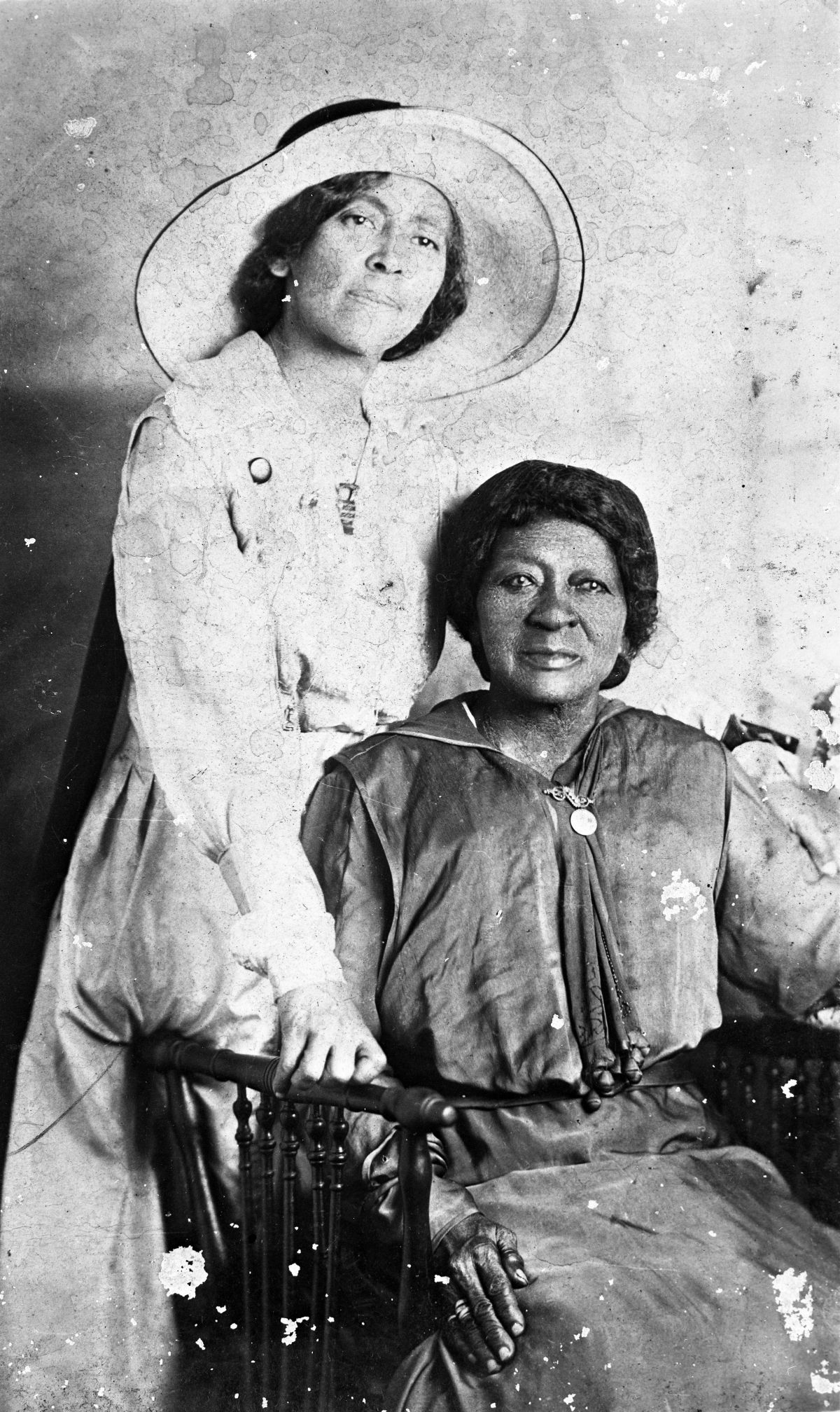 Eartha M.M. White and her mother Clara White - Jacksonville, Florida.