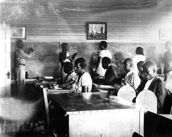 FERA adult education class at Washington School - Pensacola, Florida.