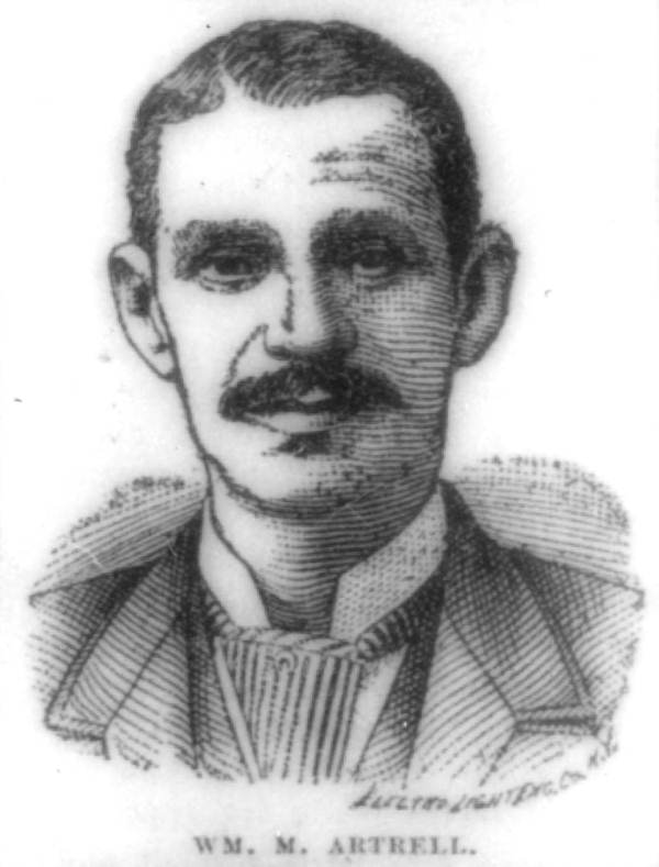 Drawing of William M. Artrell.